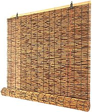 Hand-Woven Natural Reed Curtains,Roller