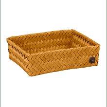 Handed By - Fit Storage Basket Ochre Yellow Medium