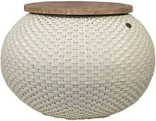 Handed By - HALO Storage Basket Cream White Handed