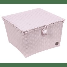 Handed By - Pisa Basket Powder Pink Small