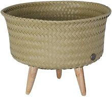 Handed By - Recycled Plastic UP Low Basket/Plant