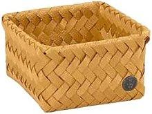 Handed By - Storage Basket Ochre Yellow Tiny