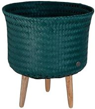 Handed By - UP Mid Plant Basket Blue Green Handed