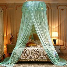 Handfly Bed Canopy with Colorful Led String Lights