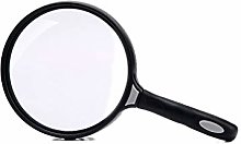 Handheld 130mm Large Mirror Magnifying Glass Is