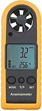 Handheld Digital LCD Backlight Anemometer Airflow