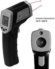 Handheld Digital LCD Temperature Thermometer Laser