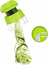 Handheld Spiralizer Vegetable Slicer, 4 in 1 Heavy