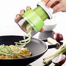 Handheld Spiralizer Vegetable Slicer,4 in 1