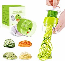 Handheld Spiralizer Vegetable Slicer, 4 in 1