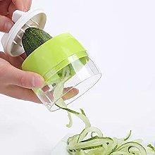 Handheld Spiralizer Vegetable Slicer, 4 in 1ABS