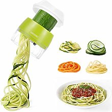 Handheld Spiralizer Vegetable Slicer, Adoric 4 in