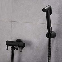 Handheld Toilet Bidet Sprayer Set Kit Brass Hand