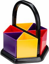 Handi-Holder Assorted Colours Desk Tidy - Adventa