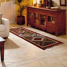 Handicraft Bazarr 2x6 ft Reversible Rectangular