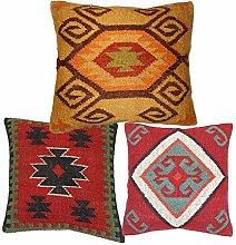 Handicraft Bazarr Decorative Jute Rug Cushion