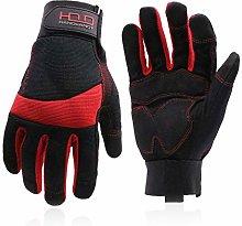HANDLANDY Anti Vibration Safety Work Gloves for