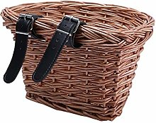 Handlebar Storage Basket D-Shaped Bike Basket,