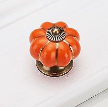 handles for kitchen furniture Pumpkin ceramic