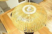 Handmade Bamboo Lampshade, Pendant Ceiling Shade,