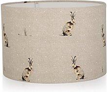 Handmade Fryetts Natural Hartley Hare Linen