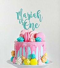 Handmade Glitter Cake Topper, 1St Birthday Cake