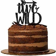 Handmade Glitter Cake Topper, Birthday Cake