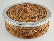 Handmade Pine Needle Tortilla Warmer