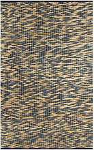 Handmade Rug Jute Blue and Natural 120x180 cm -