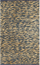 Handmade Rug Jute Blue and Natural 160x230 cm