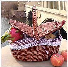 Handmade Shopping Basket, Gift Basket, Wicker