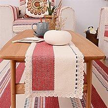 Handmade Simple Table Runners Luxury Linen Cotton