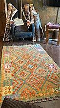 Handmade Traditional Afghan Kilim Flatweave