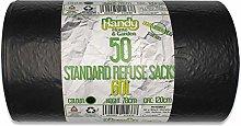 Handy Home and Garden 60 Litre Dustbin Bin Bag