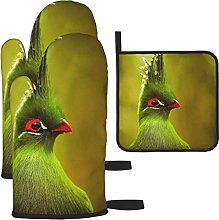 Hangdachang Crown Bird Oven Gloves Microwave