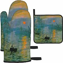 Hangdachang Painting Oil Painting Oven Gloves