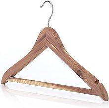 HANGERWORLD 10 Premium 44cm Natural Cedar Wood