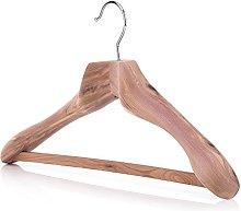 HANGERWORLD 50cm Luxury Strong Cedar Wood Clothes