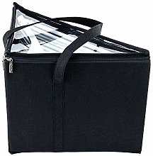 HANGERWORLD Coat Hanger Storage Box With Two Carry