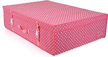 HANGERWORLD Large Pink Polka Dot Wedding Dress