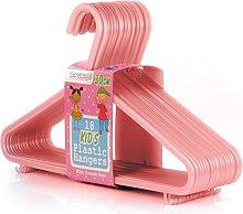 HANGERWORLD Pack of 72 Plastic Coat Hangers with