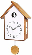 HANGESS Cuckoo Wall Clock for Living Room Modern