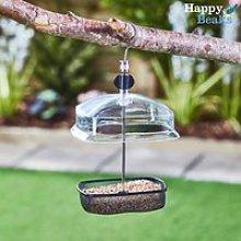 Hanging Adjustable Small Bird Feeder with Baffle