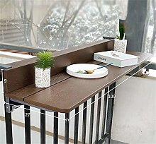 Hanging Balcony Folding Table - 1.5cm Imitation
