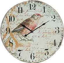 Hanging clock bird