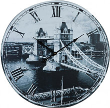 Hanging clock bridge