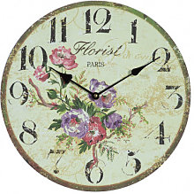 Hanging clock flowers