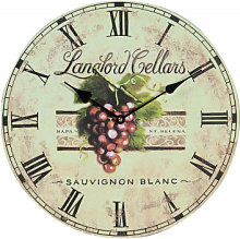 Hanging clock grapes