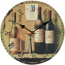 Hanging clock wine