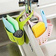 Hanging Drain Bag Basket Bath Storage Gadget Tools